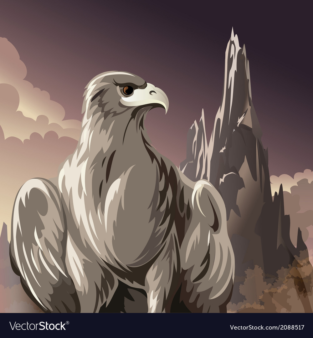 The eagle vector | Price: 3 Credit (USD $3)