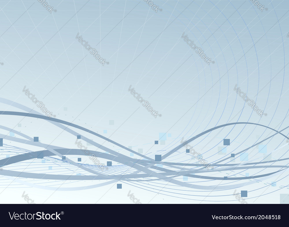 Blue background speed swoosh waves concept vector | Price: 1 Credit (USD $1)