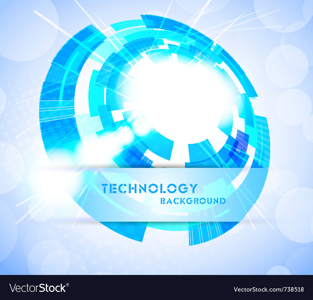 Bright tech background vector | Price: 1 Credit (USD $1)