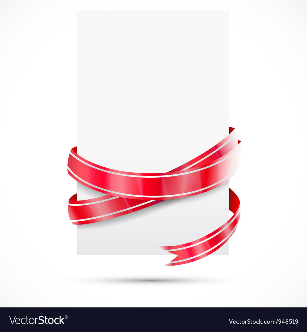 Promo tag red ribbon vector | Price: 1 Credit (USD $1)