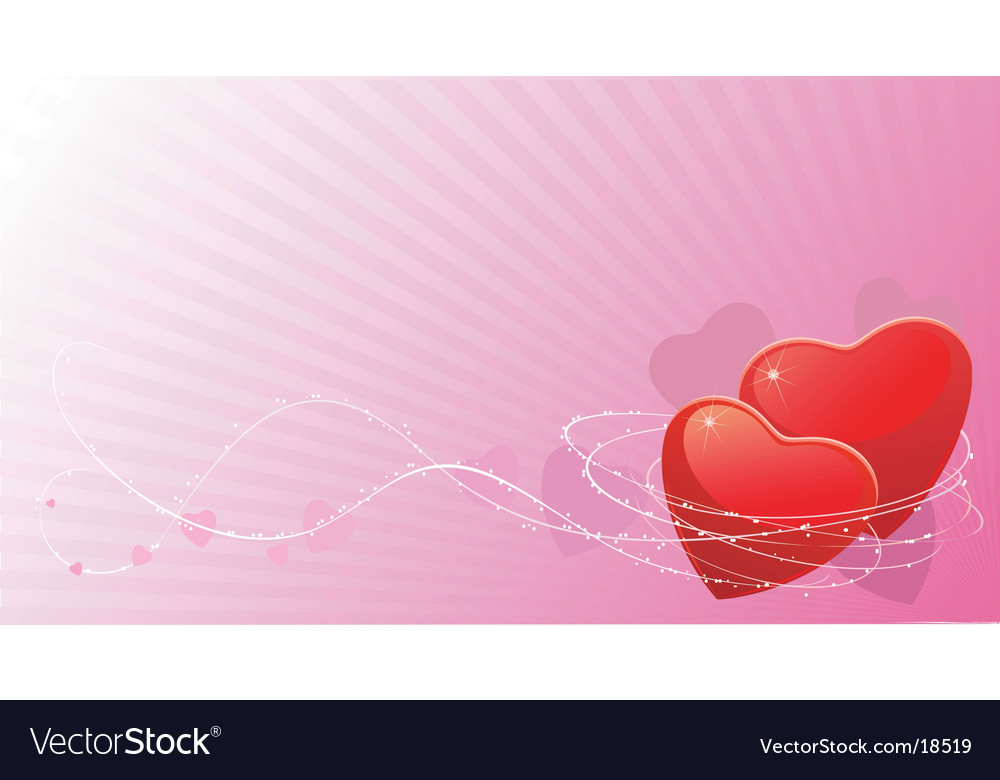 Valentines abstract background vector | Price: 1 Credit (USD $1)