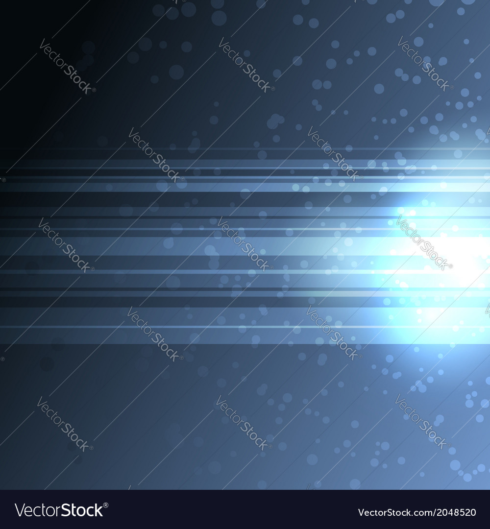 Bright blue sparkes background with lines vector | Price: 1 Credit (USD $1)