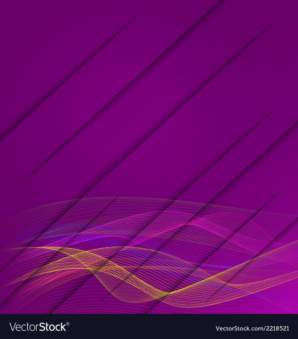 Purple wavy with cuts vector | Price: 1 Credit (USD $1)