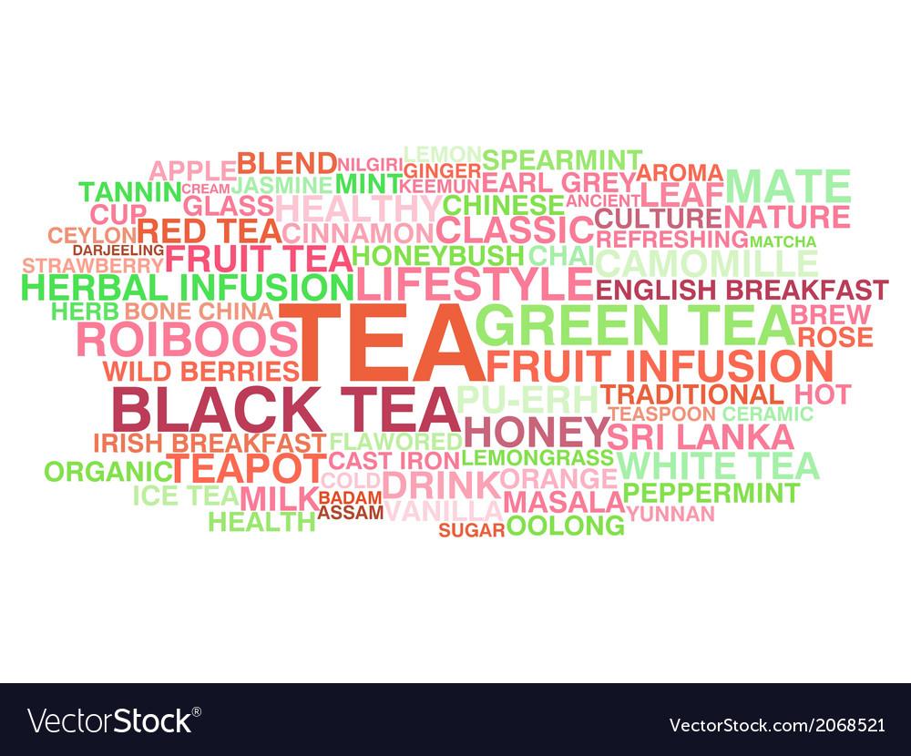 Tea variety vector | Price: 1 Credit (USD $1)
