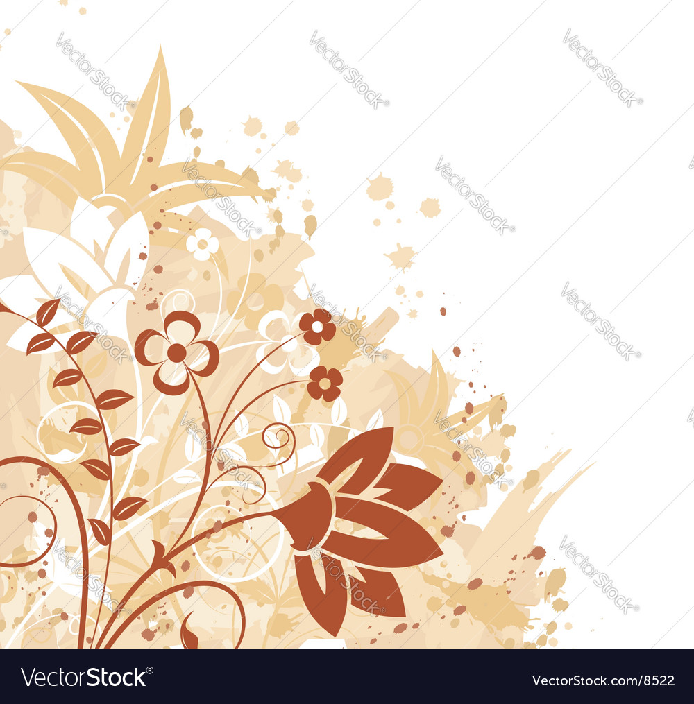 Background flower vector | Price: 1 Credit (USD $1)