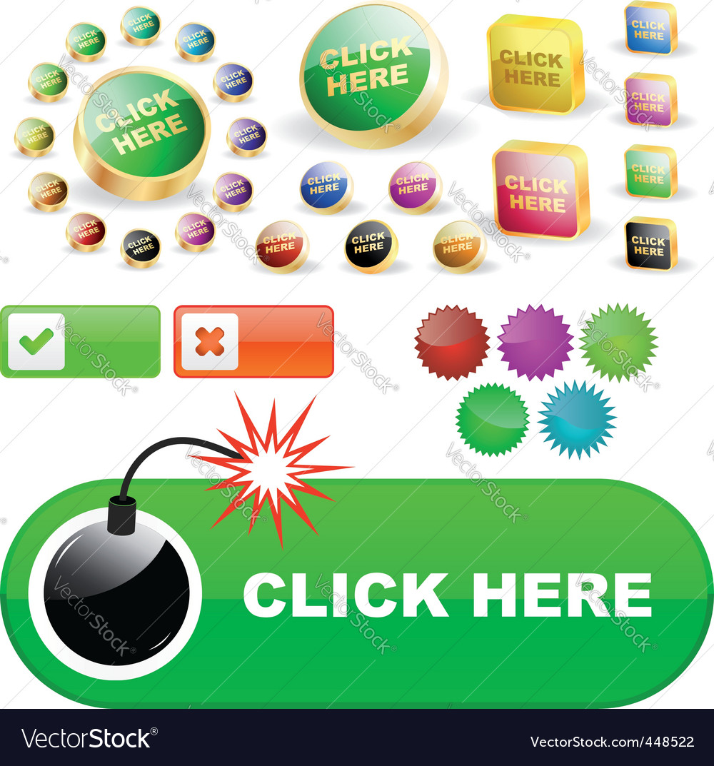 Click here vector   Price: 1 Credit (USD $1)