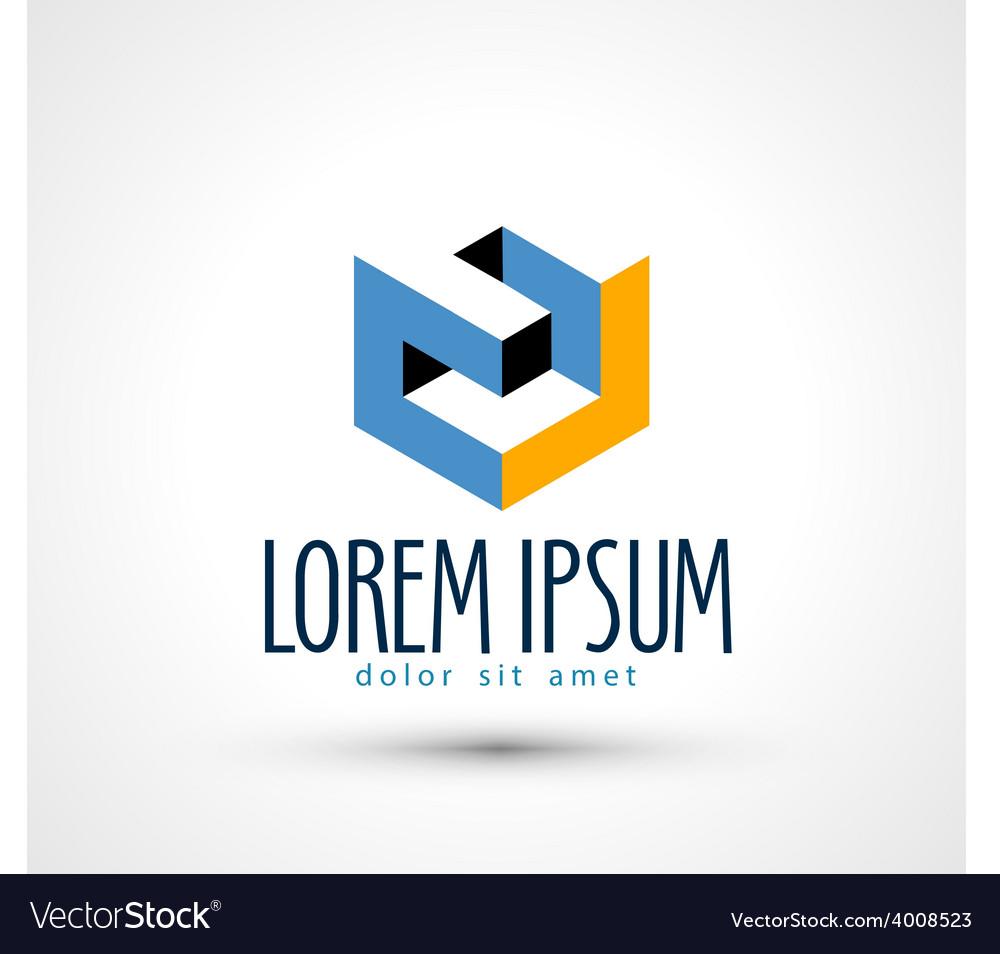 Company logo design template busines or vector   Price: 1 Credit (USD $1)