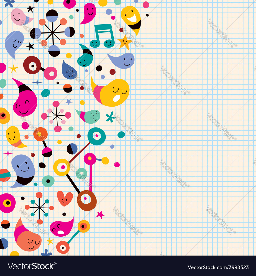 Fun background 2 vector | Price: 1 Credit (USD $1)
