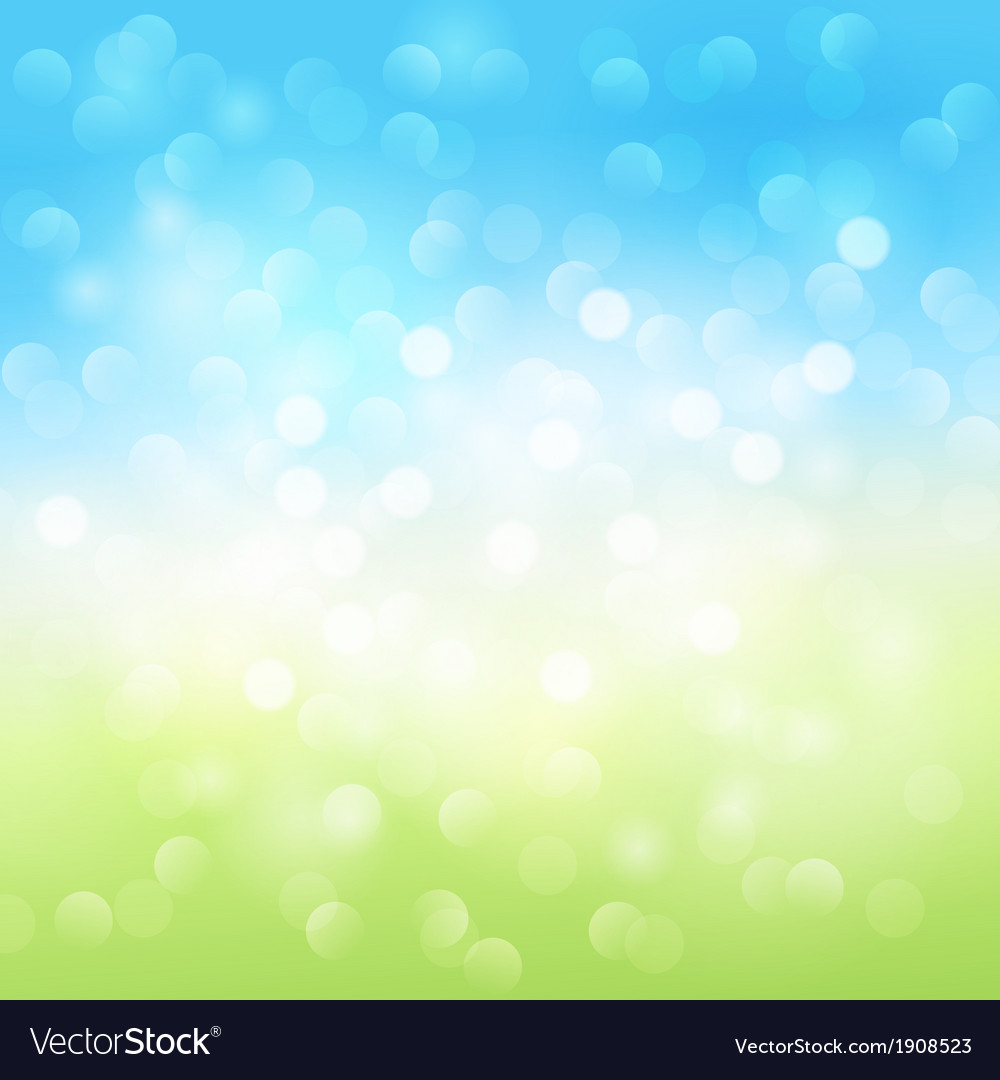 Summer bokeh light background vector   Price: 1 Credit (USD $1)