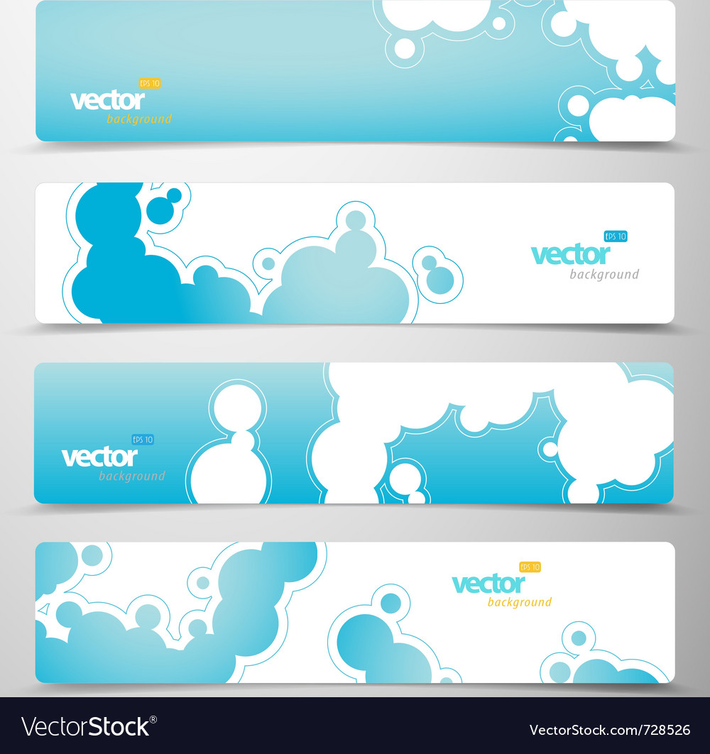 Abstract web headers vector | Price: 1 Credit (USD $1)