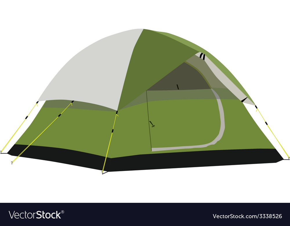 Camping tent vector | Price: 1 Credit (USD $1)