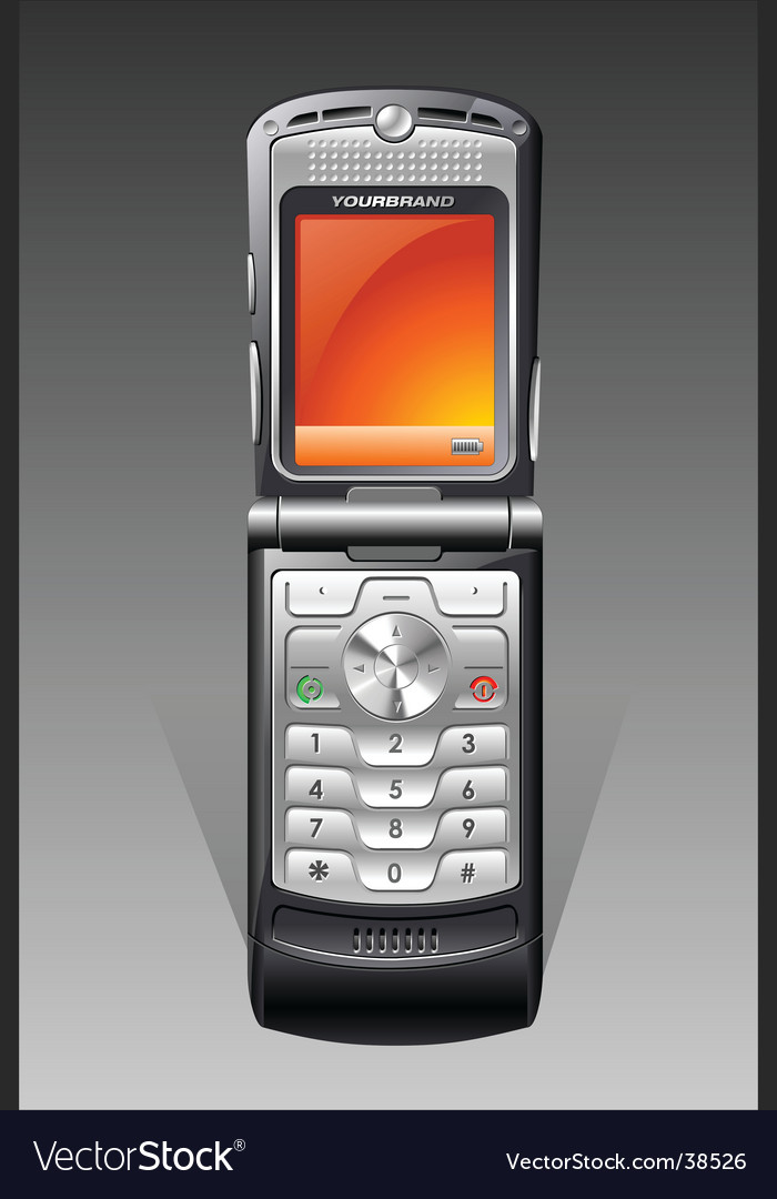 Cellphone vector   Price: 1 Credit (USD $1)