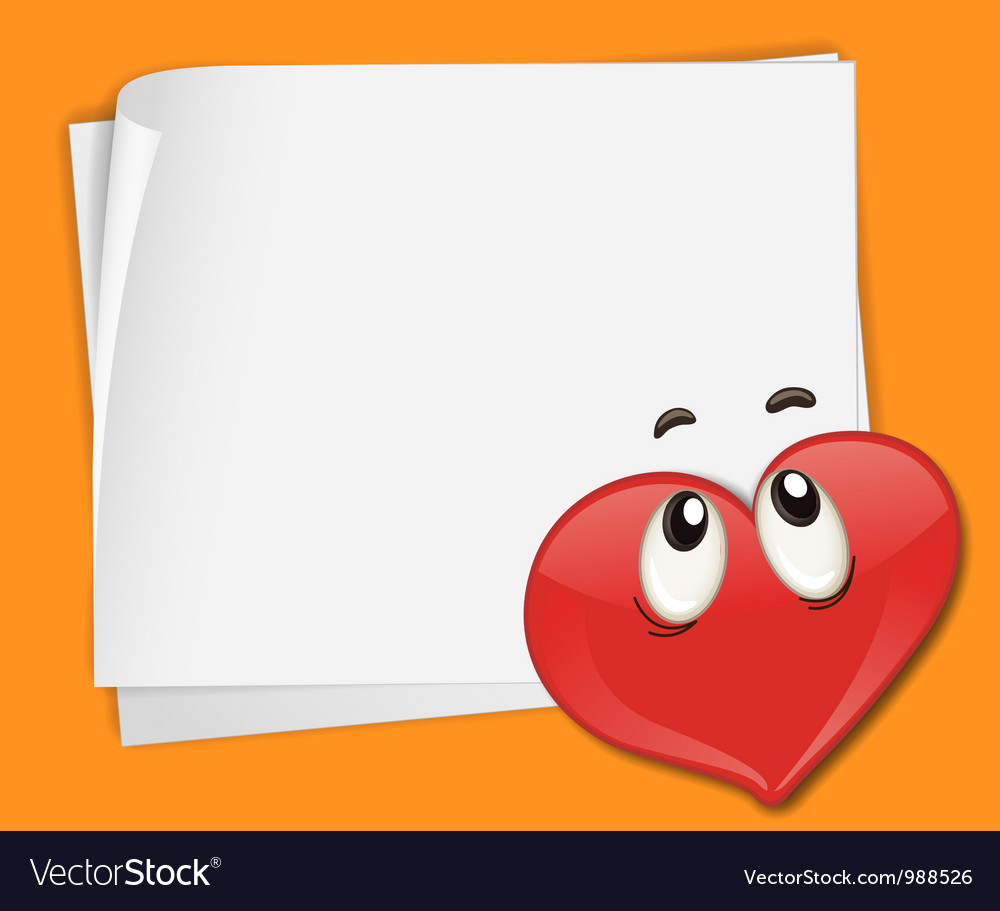 Love note background vector | Price: 1 Credit (USD $1)