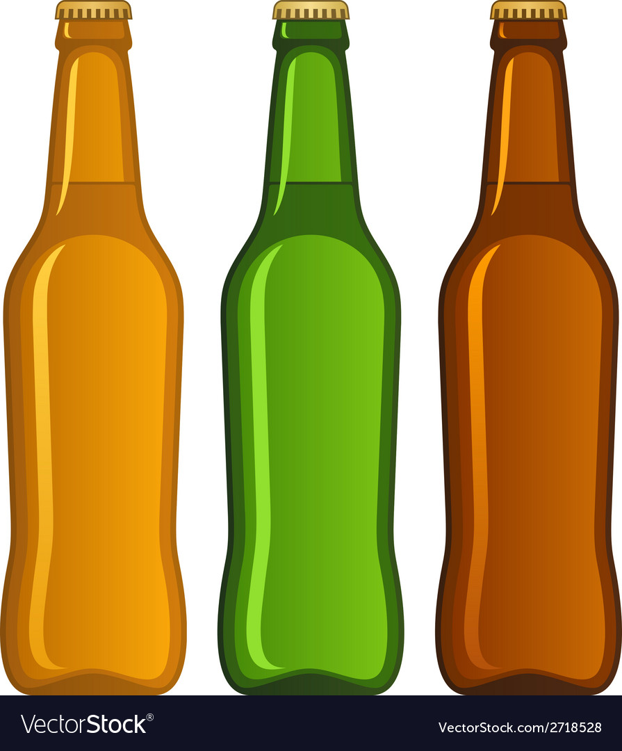 Beer bottle vector | Price: 1 Credit (USD $1)