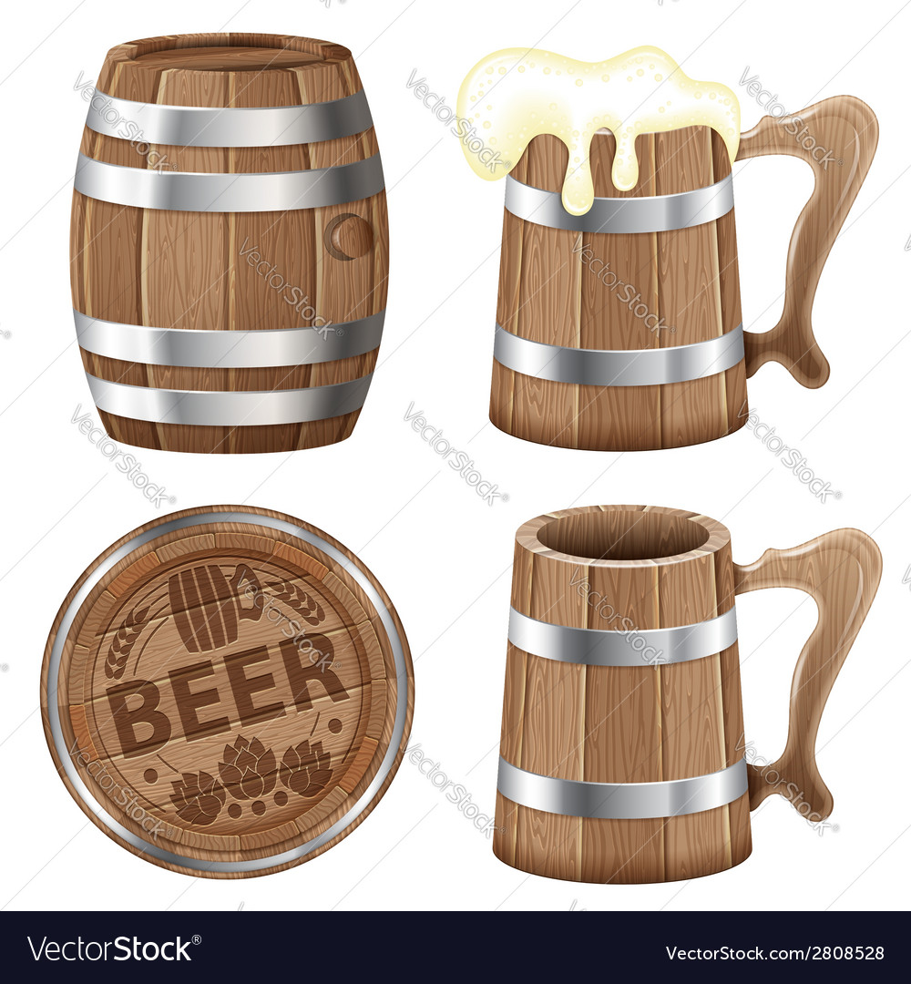 Beer collection vector | Price: 1 Credit (USD $1)
