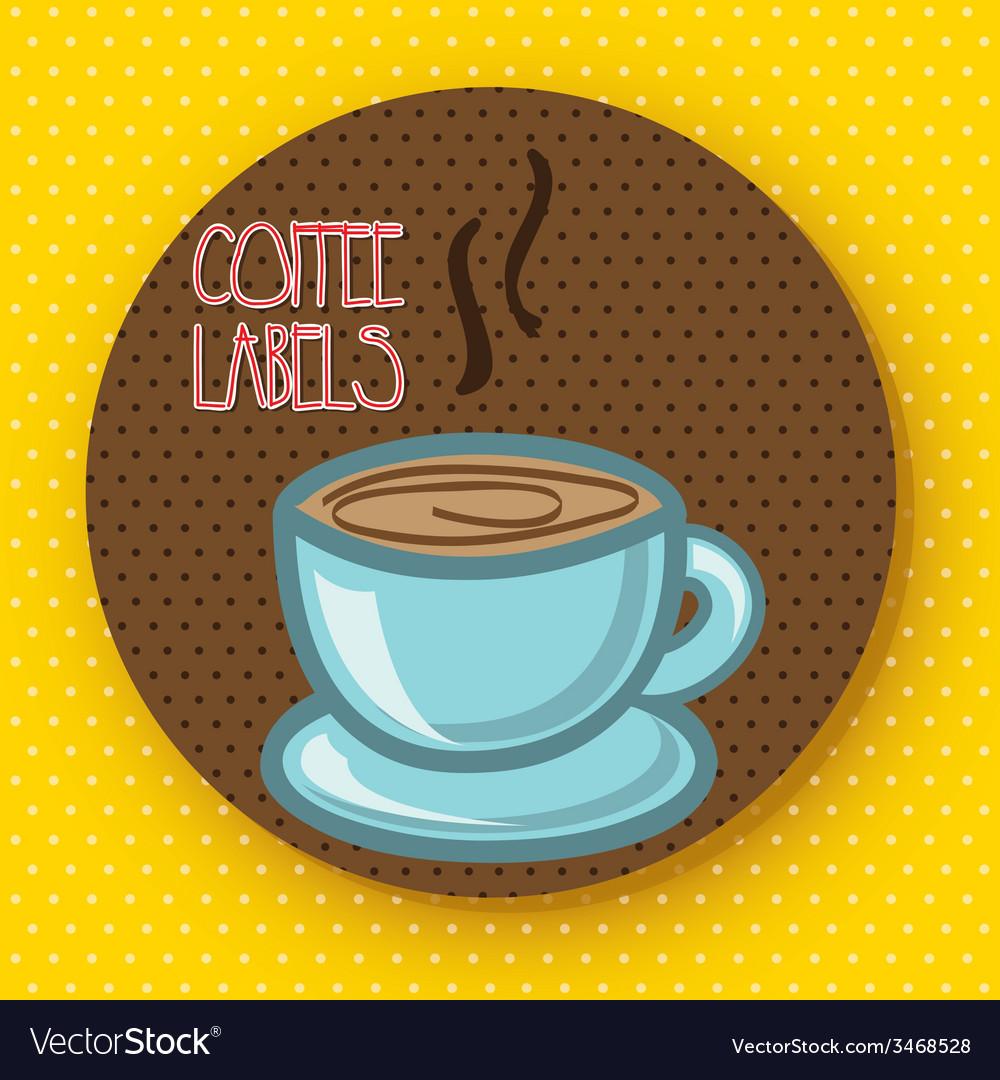 Coffee design vector | Price: 1 Credit (USD $1)