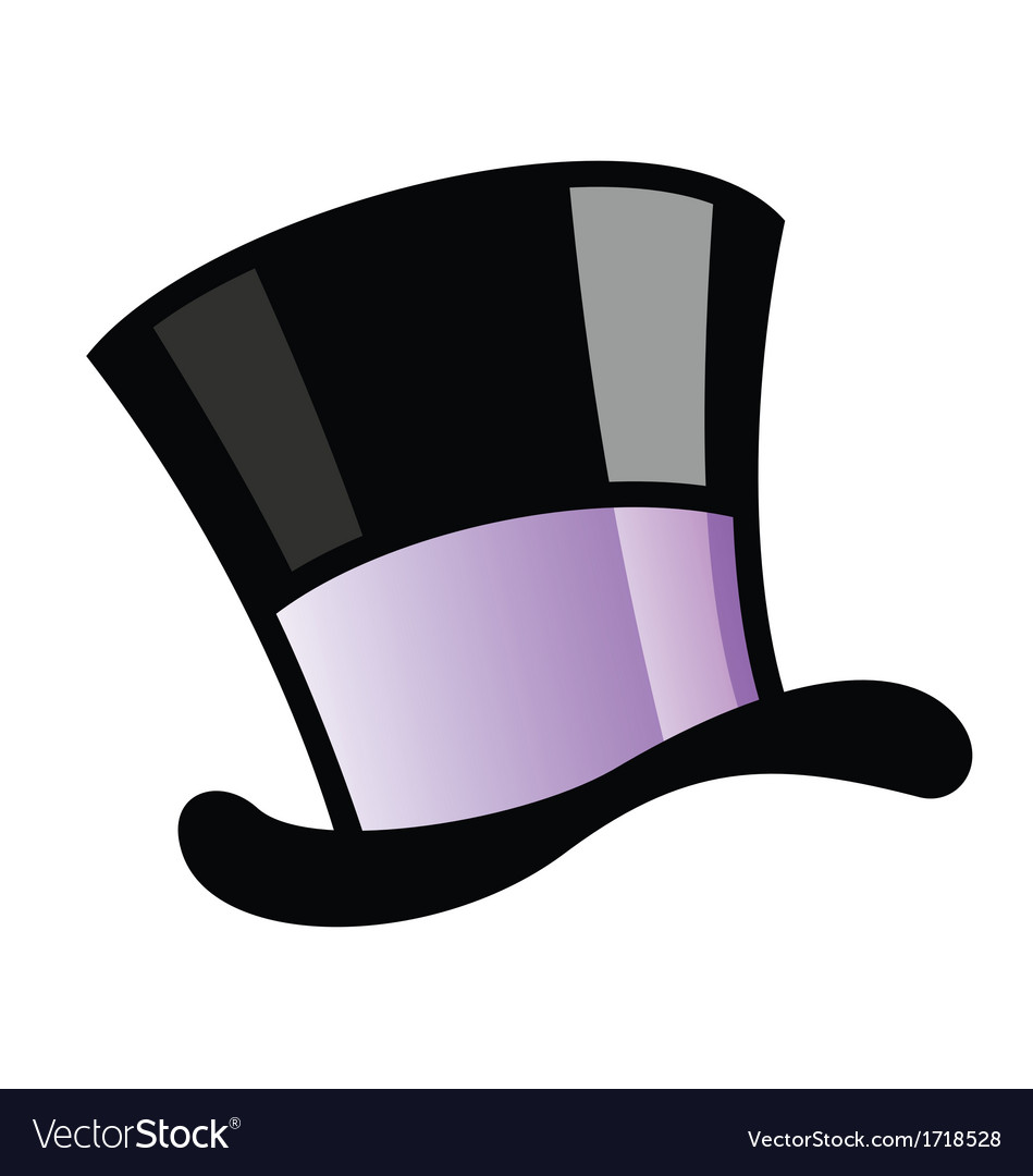 Magician hat vector | Price: 1 Credit (USD $1)