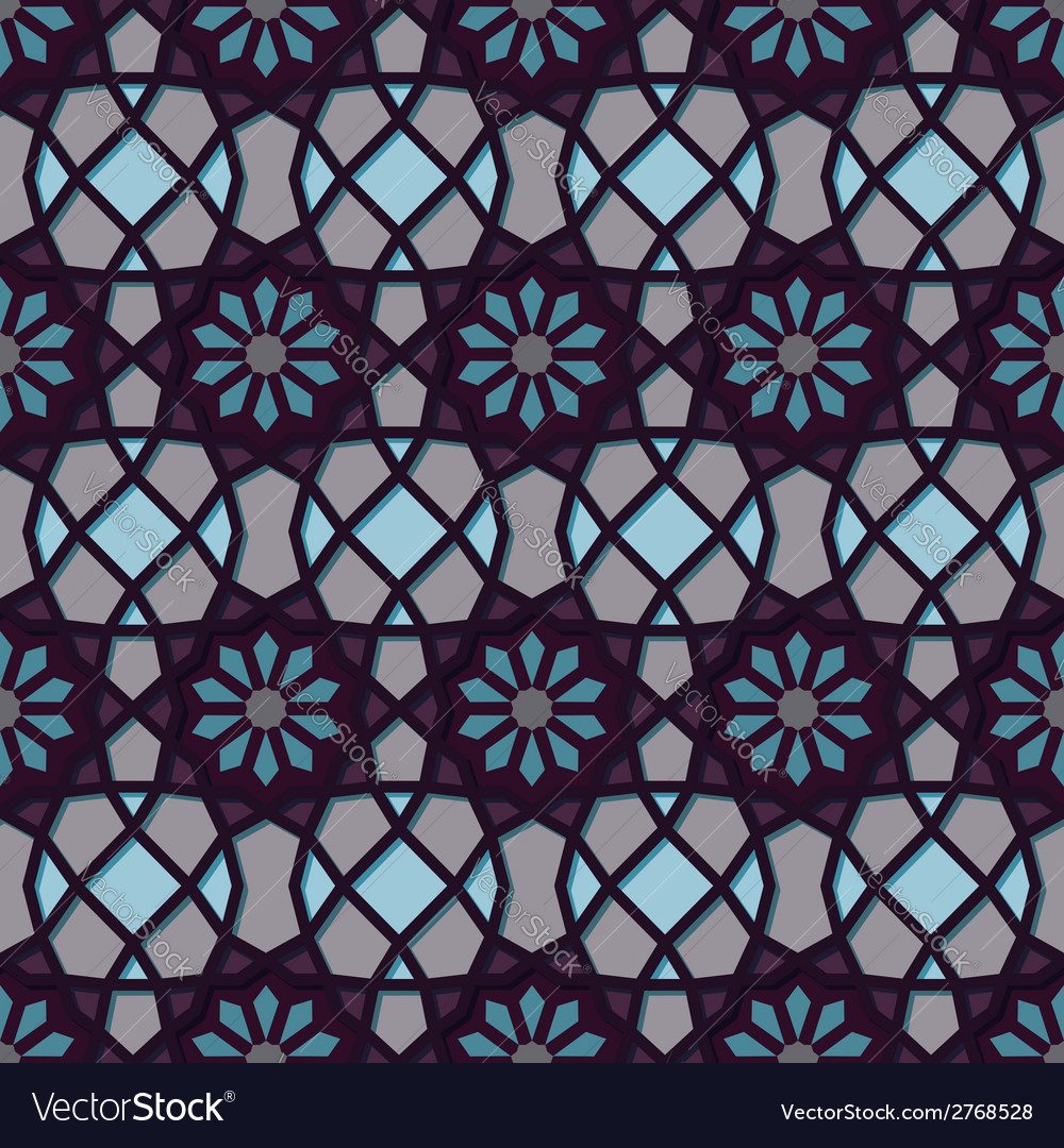 Traditional ornamental seamless islamic pattern vector   Price: 1 Credit (USD $1)