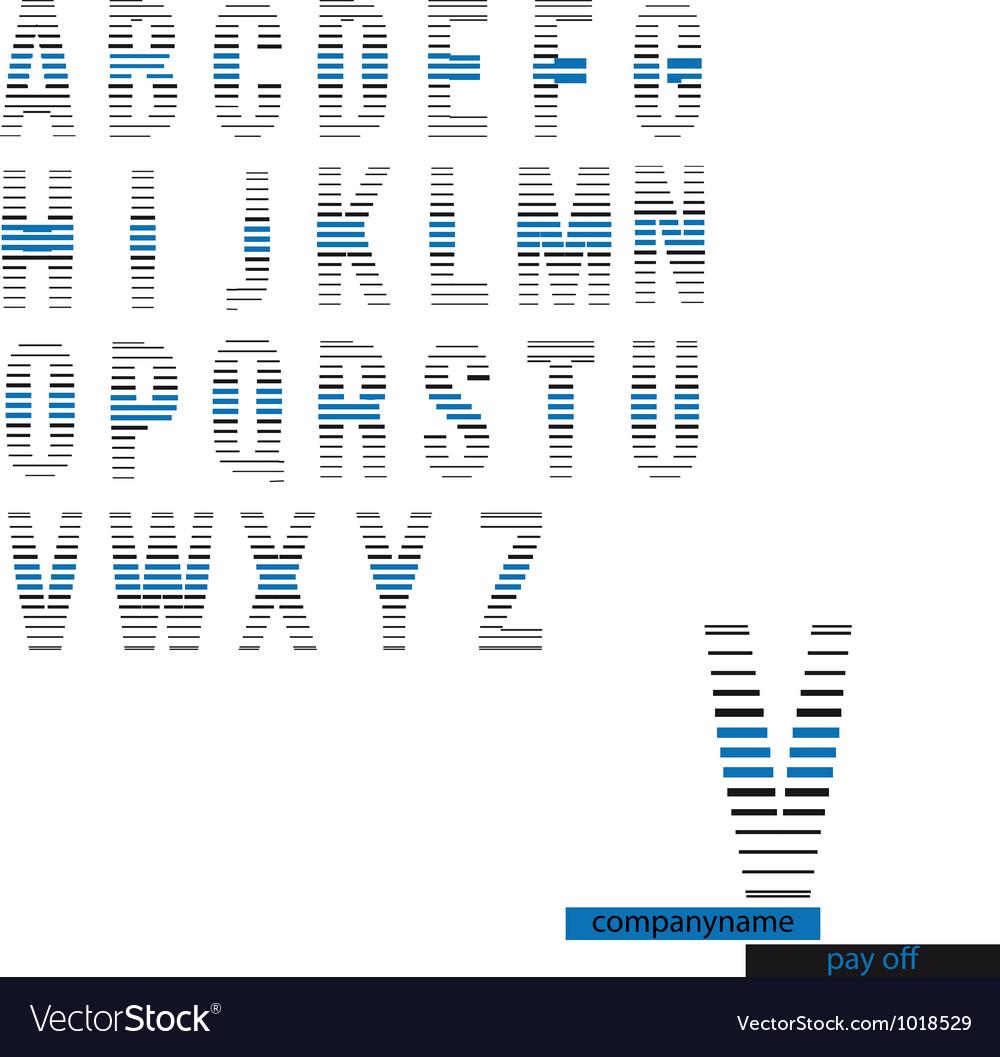 Alphabet vector   Price: 1 Credit (USD $1)