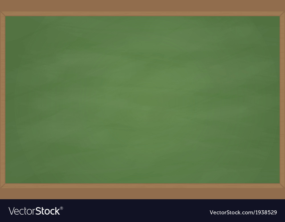 Blank chalk board vector | Price: 1 Credit (USD $1)