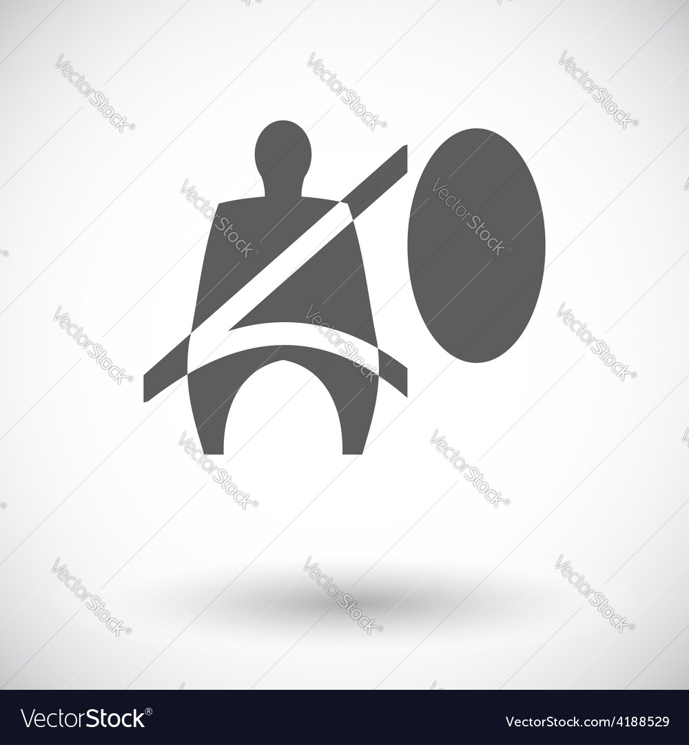 Seat belt vector | Price: 1 Credit (USD $1)