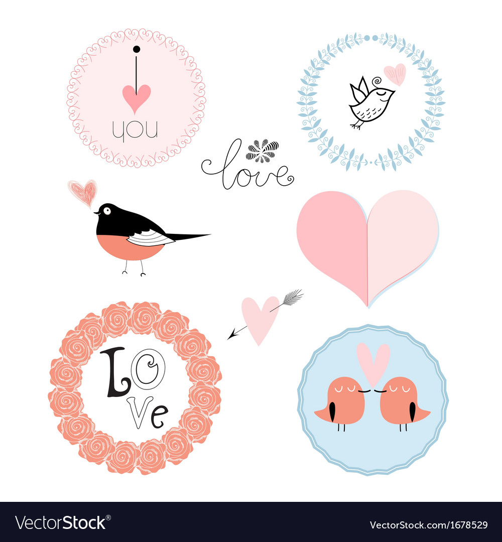 Stok vektor logo lovers vector | Price: 1 Credit (USD $1)