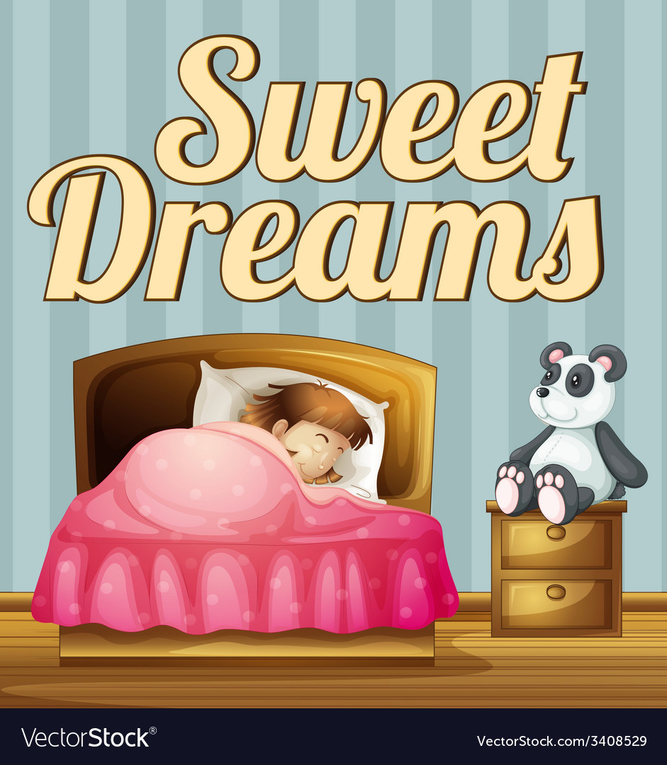 Sweet dream vector | Price: 1 Credit (USD $1)