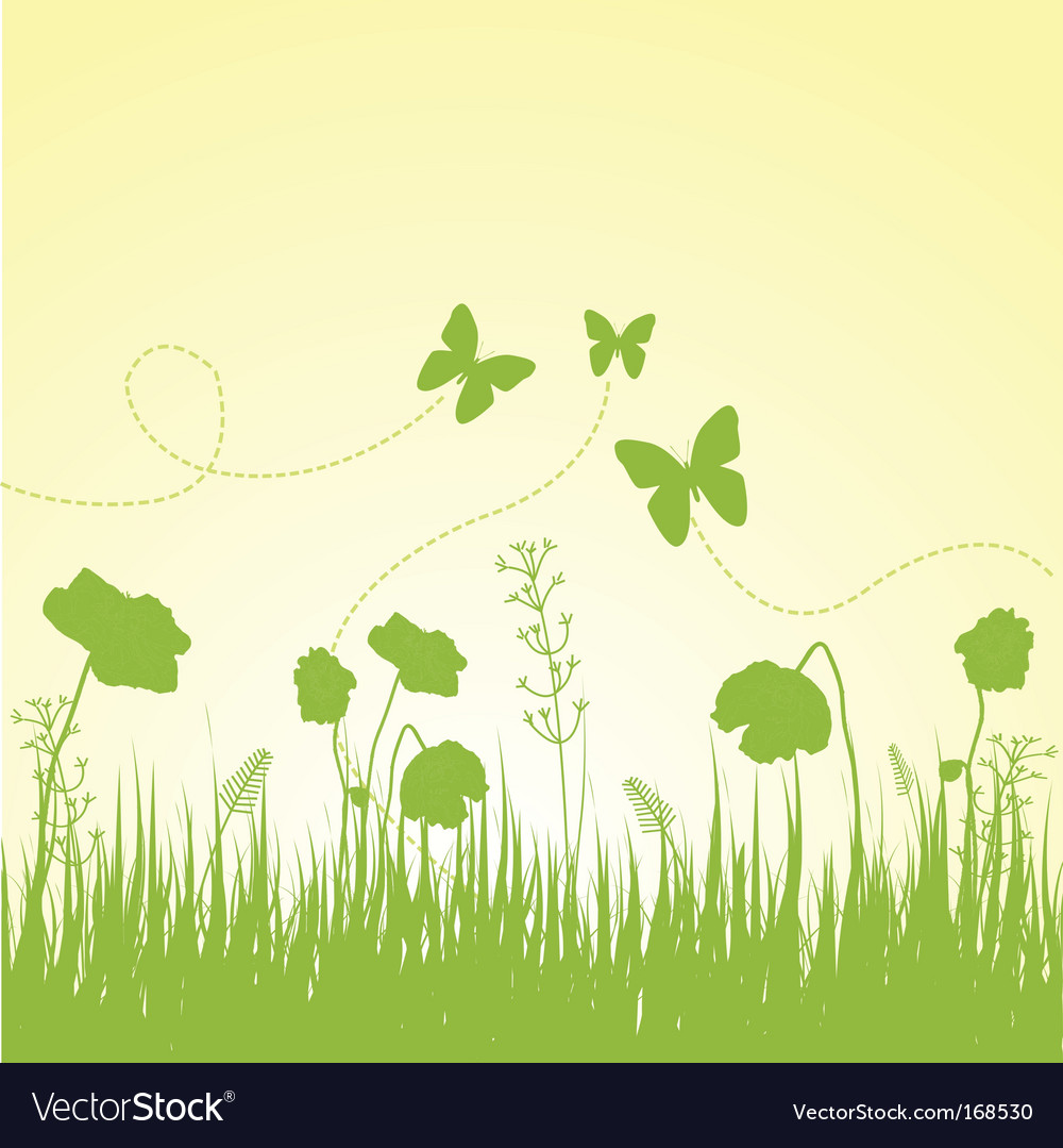 Spring composition vector | Price: 1 Credit (USD $1)