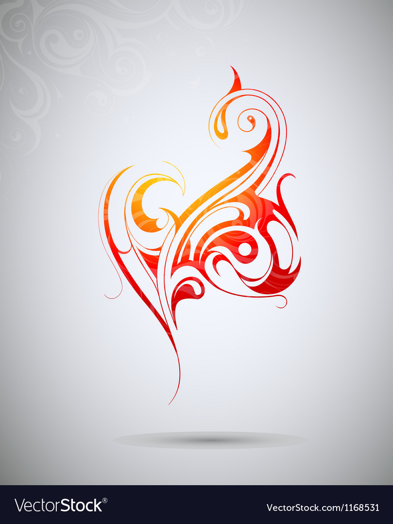 Abstract tribal tattoo design vector | Price: 1 Credit (USD $1)