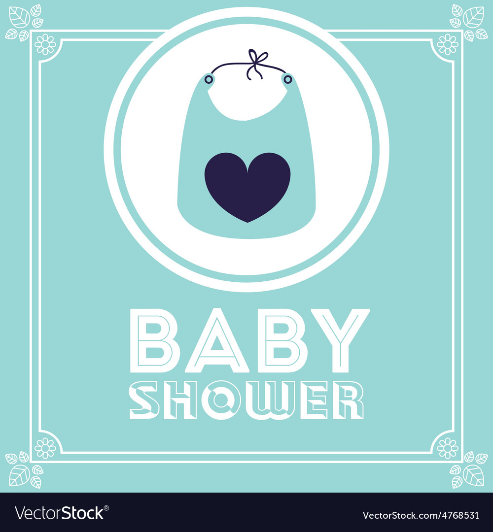 Baby shower design vector   Price: 1 Credit (USD $1)