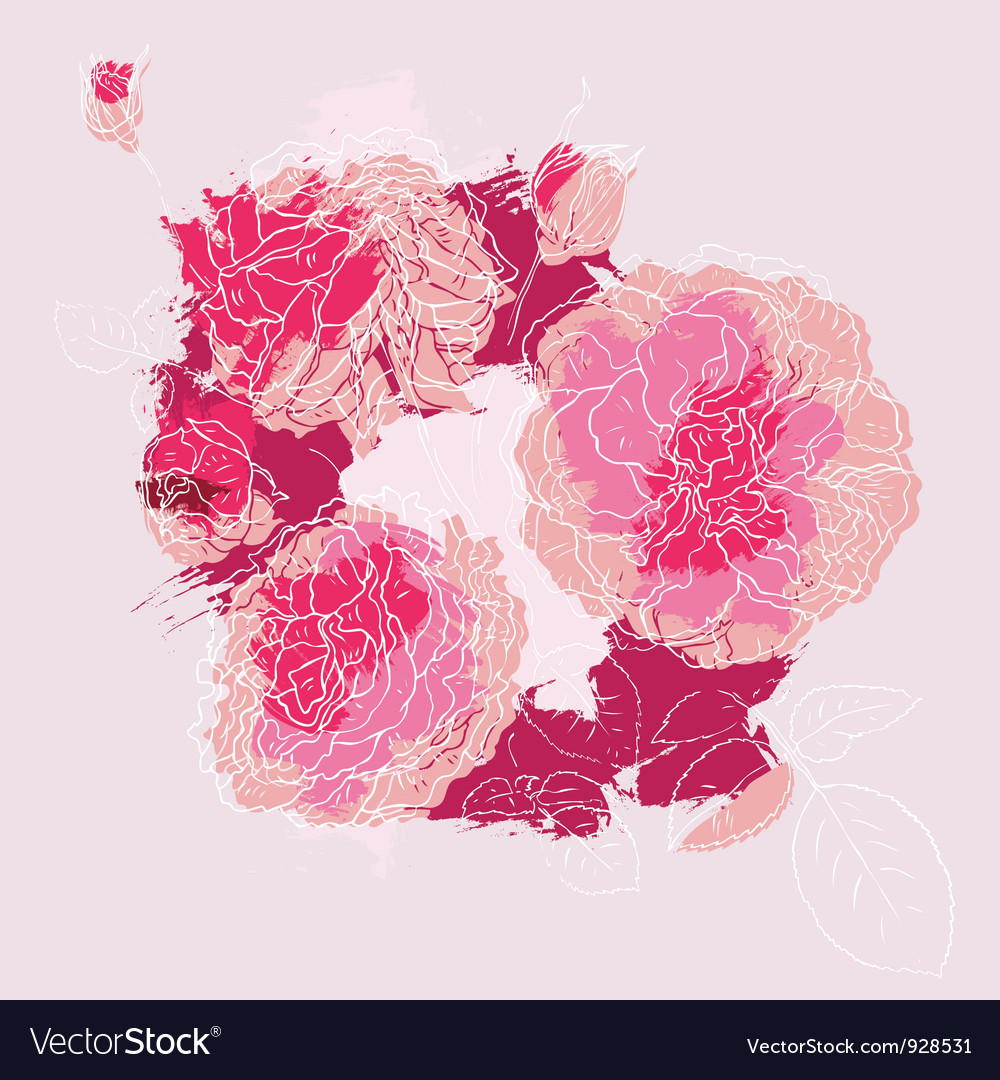 Beautiful pink rose vector   Price: 1 Credit (USD $1)