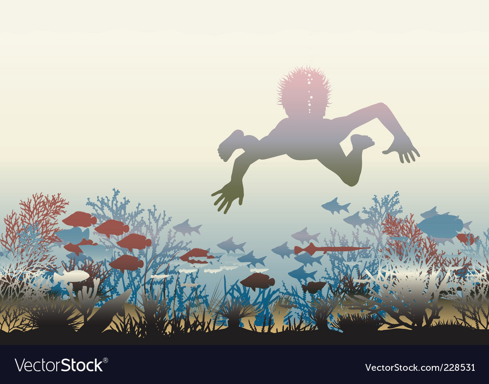 Coral discovery vector | Price: 1 Credit (USD $1)