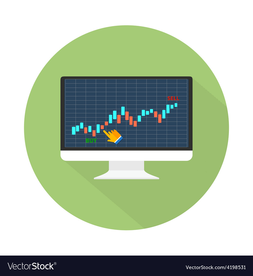 Data analyzing in forex market vector | Price: 1 Credit (USD $1)