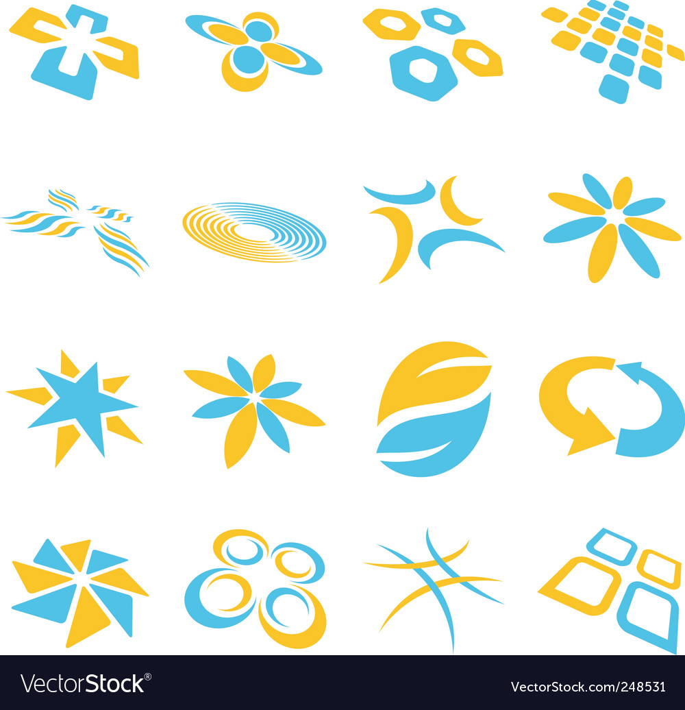 Logo background vector | Price: 1 Credit (USD $1)