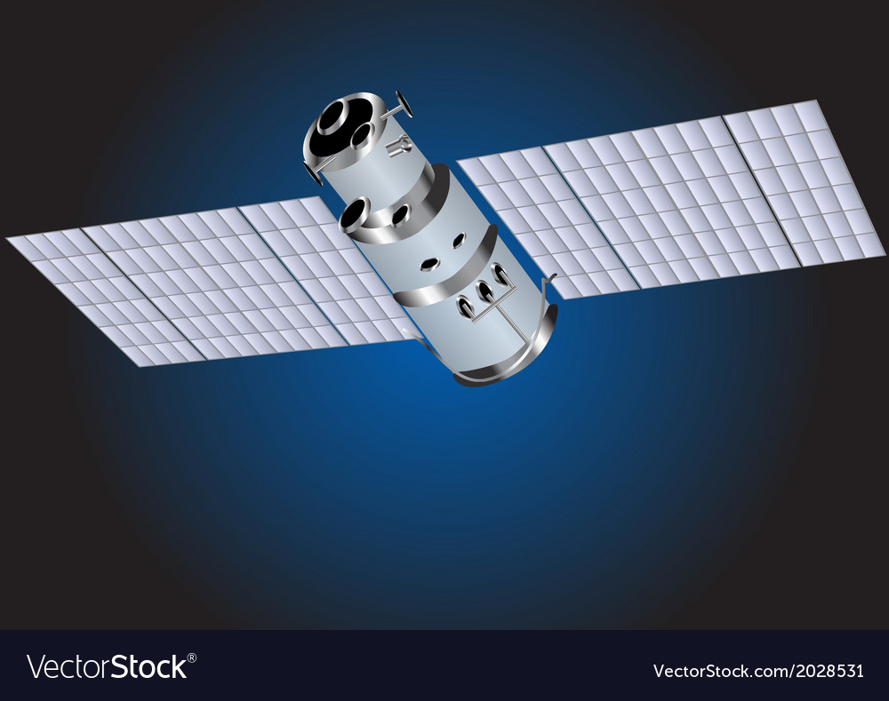 Satellite vector | Price: 1 Credit (USD $1)