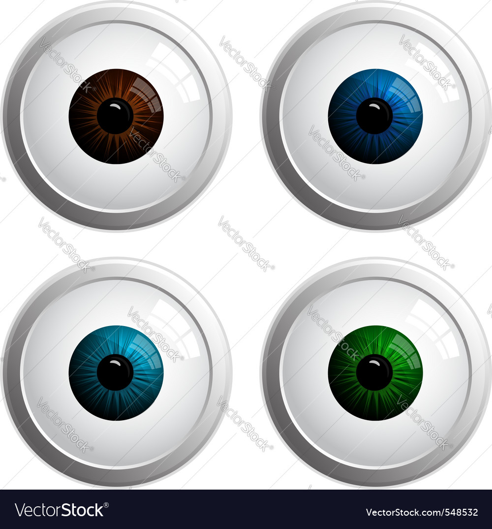 Eyeball vector | Price: 1 Credit (USD $1)