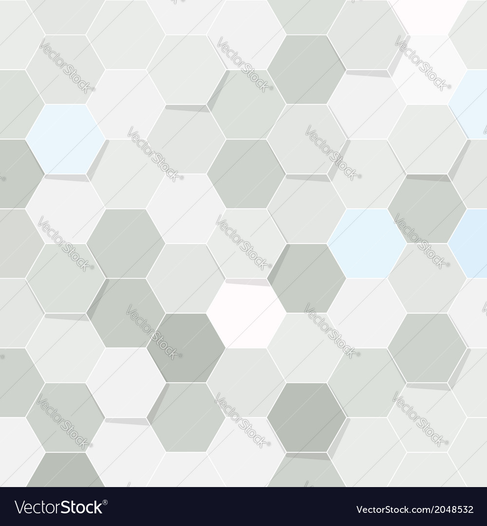 Hexagon tile transparent background vector | Price: 1 Credit (USD $1)