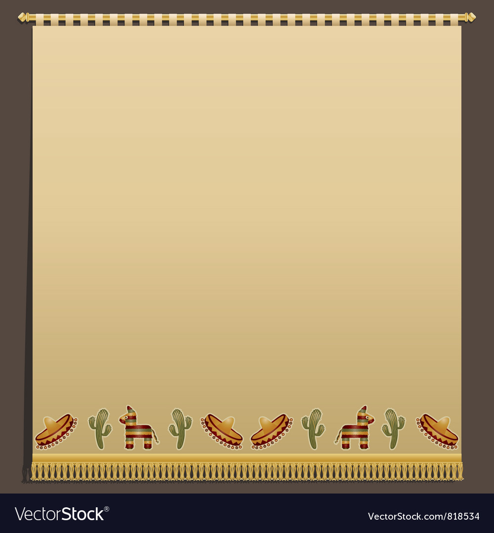 Mexican wall hanging vector | Price: 1 Credit (USD $1)