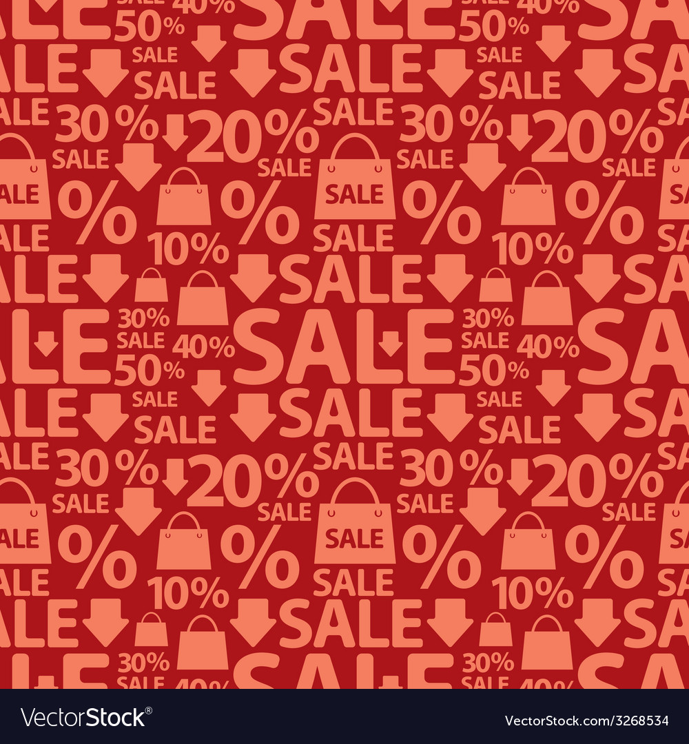 Sale pattern vector | Price: 1 Credit (USD $1)