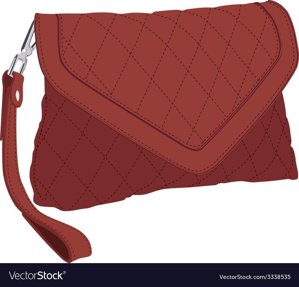 Clutch bag vector | Price: 1 Credit (USD $1)