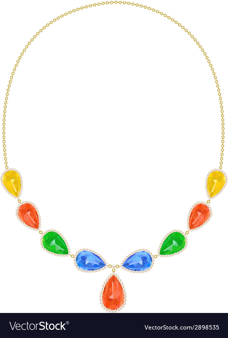 Neckllace vector | Price: 1 Credit (USD $1)