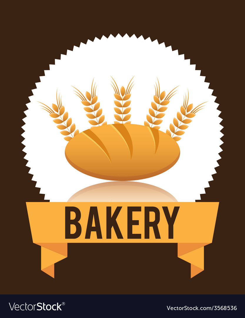 Bakery label vector | Price: 1 Credit (USD $1)