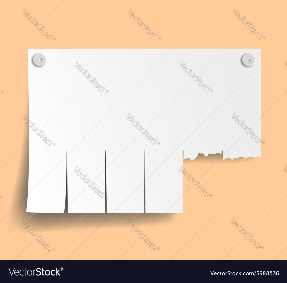 Blank ads on the wall vector | Price: 1 Credit (USD $1)