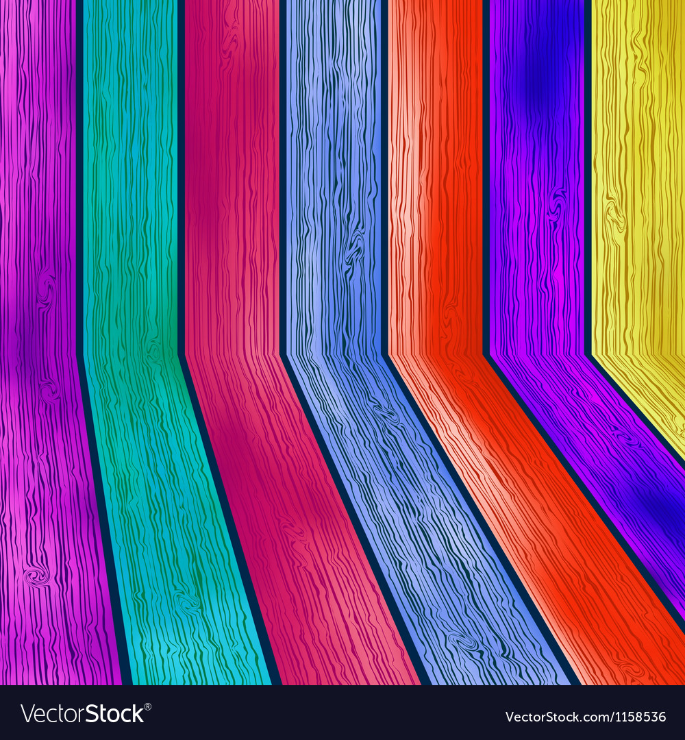 Colorful wooden with copyspace  eps8 vector | Price: 1 Credit (USD $1)
