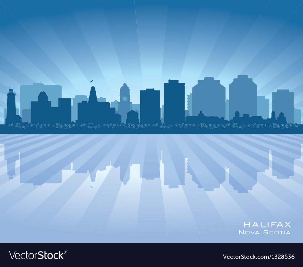 Halifax canada skyline city silhouette vector | Price: 1 Credit (USD $1)