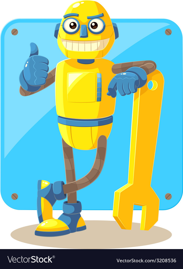 Mechanical robot vector | Price: 1 Credit (USD $1)