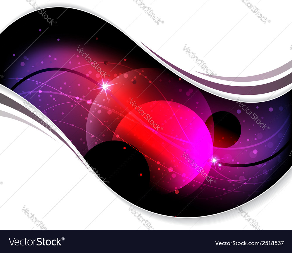 Abstract cosmic background vector | Price: 1 Credit (USD $1)