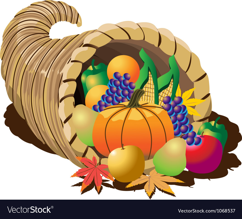 Cornucopia vector | Price: 1 Credit (USD $1)