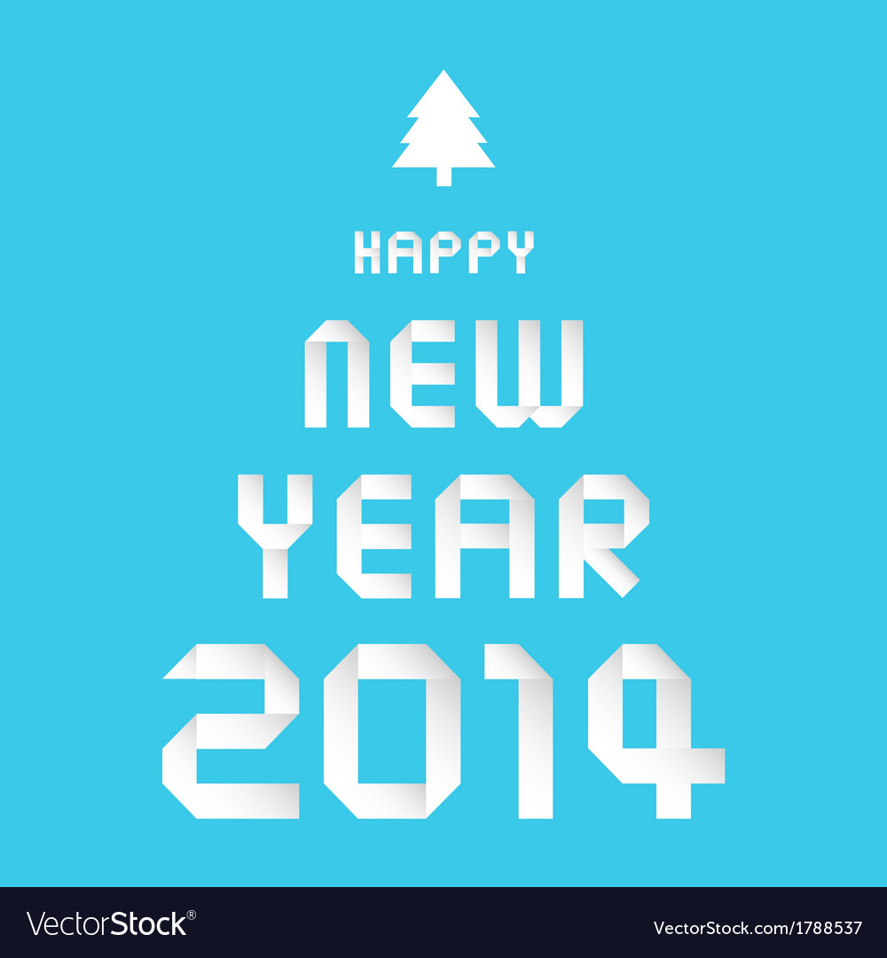 Happy new year 2014 card30 vector | Price: 1 Credit (USD $1)