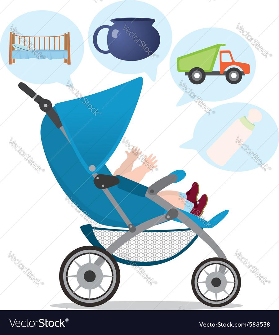Baby needs vector | Price: 1 Credit (USD $1)